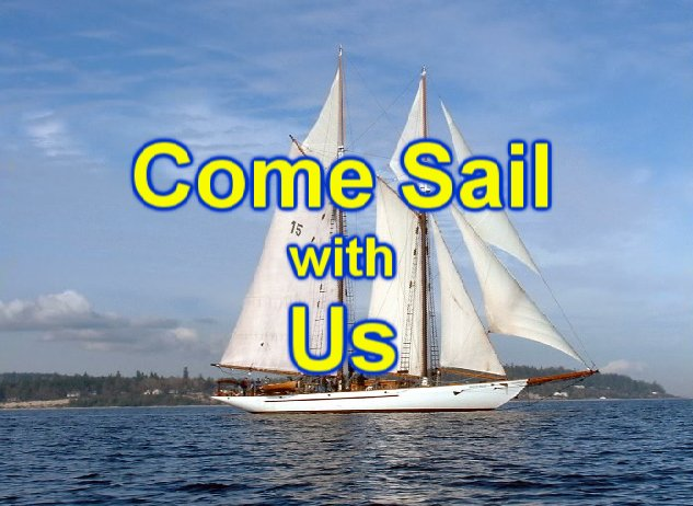 come sail with us title